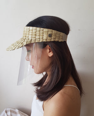 The Sun Visor + Face Shield - Island Girl
