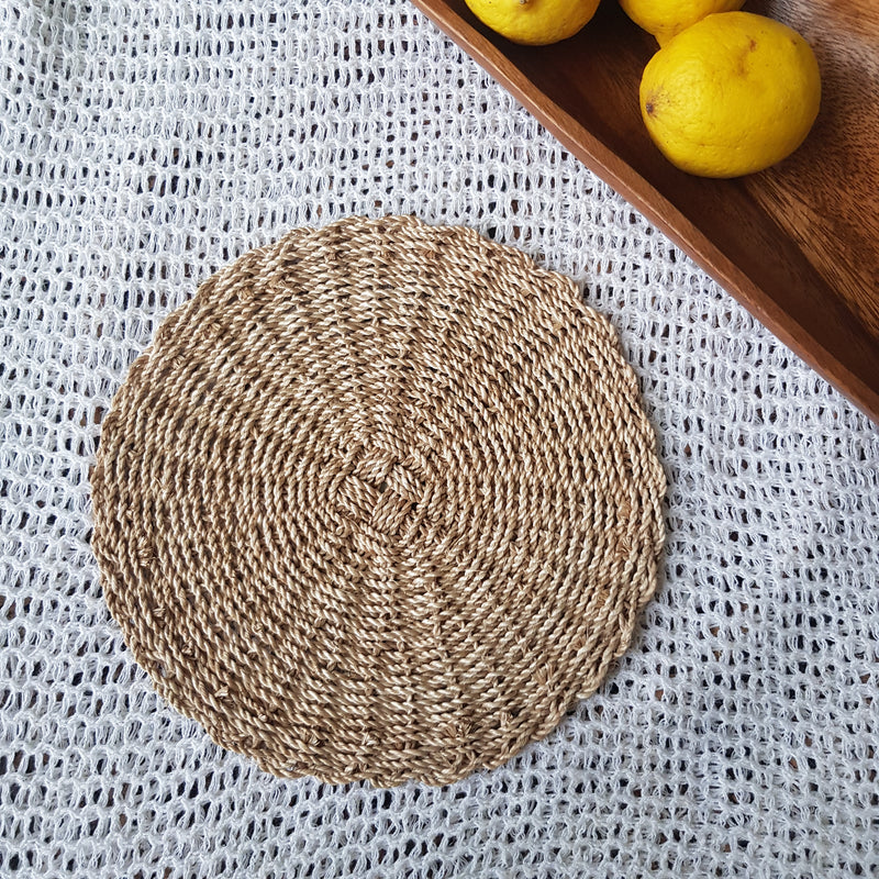 Cansta Abaca Placemat Small (Set of 2) - Island Girl