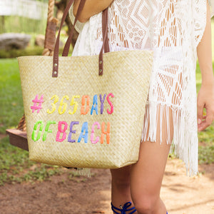 Quote Tote: 365 Days of Beach - Island Girl