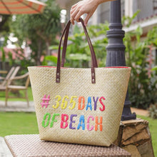 Load image into Gallery viewer, Quote Tote: 365 Days of Beach - Island Girl