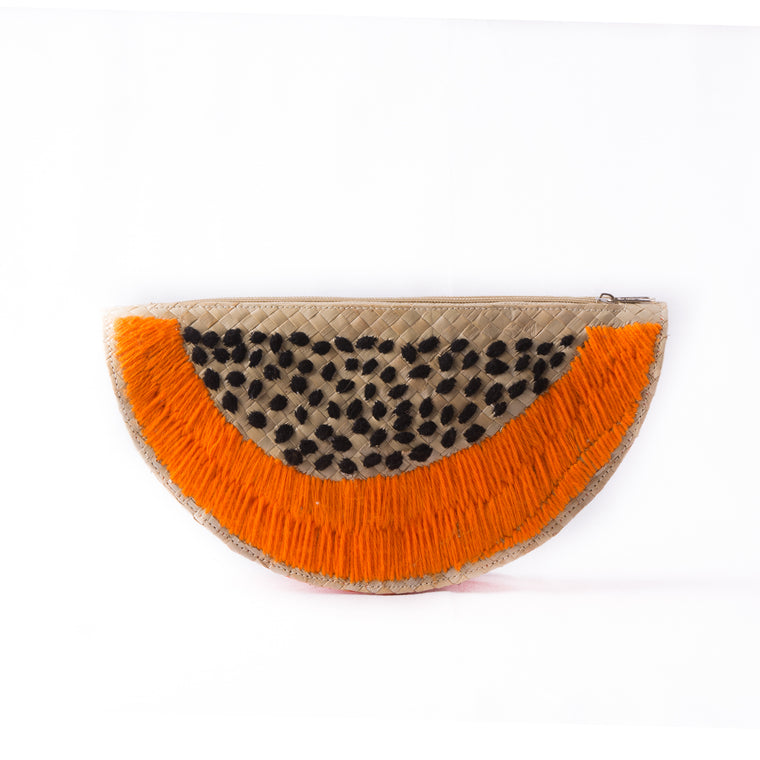A Slice of Papaya Clutch