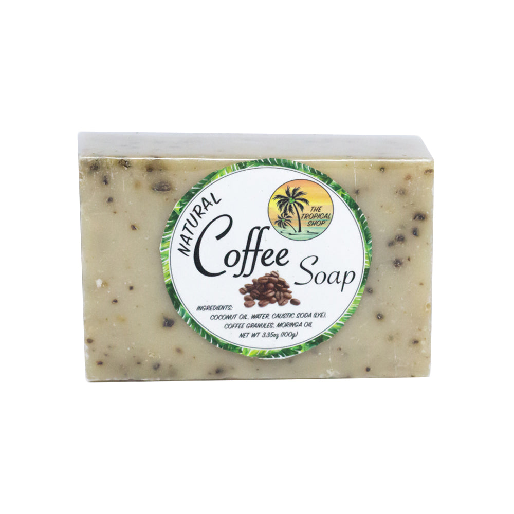 The Tropical Shop Natural Coffee Soap