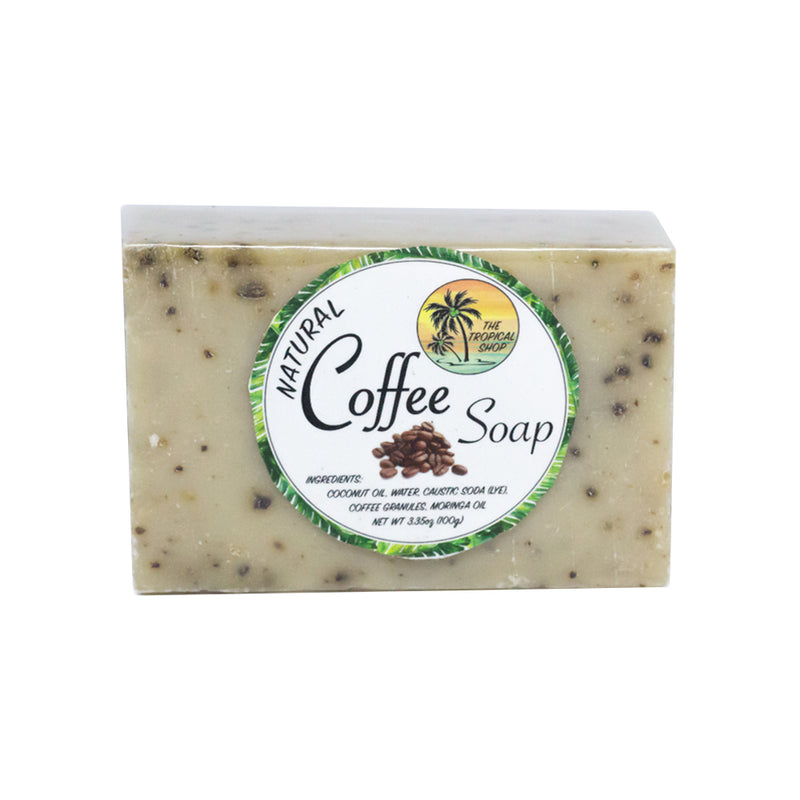 The Tropical Shop Natural Coffee Soap - Island Girl