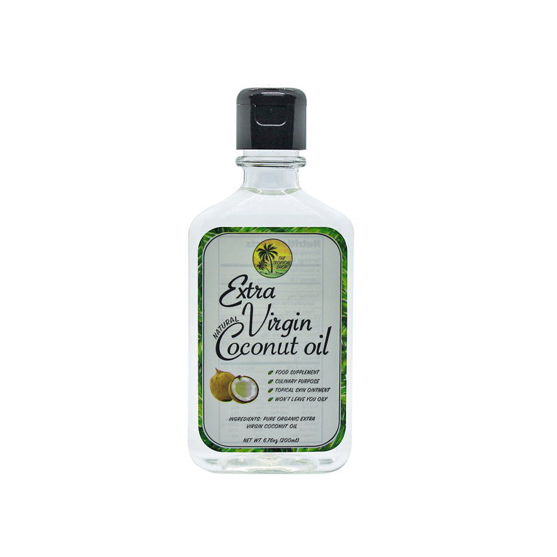 The Tropical Shop Natural Extra Virgin Coconut Oil 200ml - Island Girl