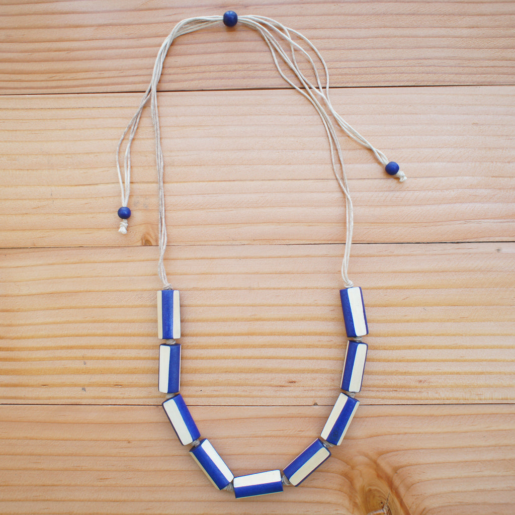Freya Necklace in BLUE