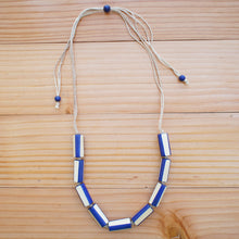 Load image into Gallery viewer, Freya Necklace in BLUE - Island Girl
