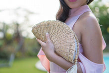 Load image into Gallery viewer, Raine Fan Clutch - Island Girl