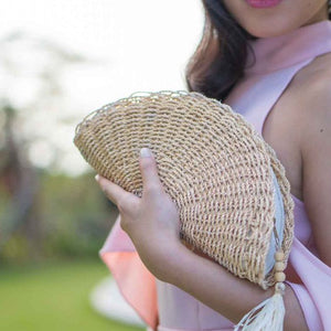 Raine Fan Clutch - Island Girl