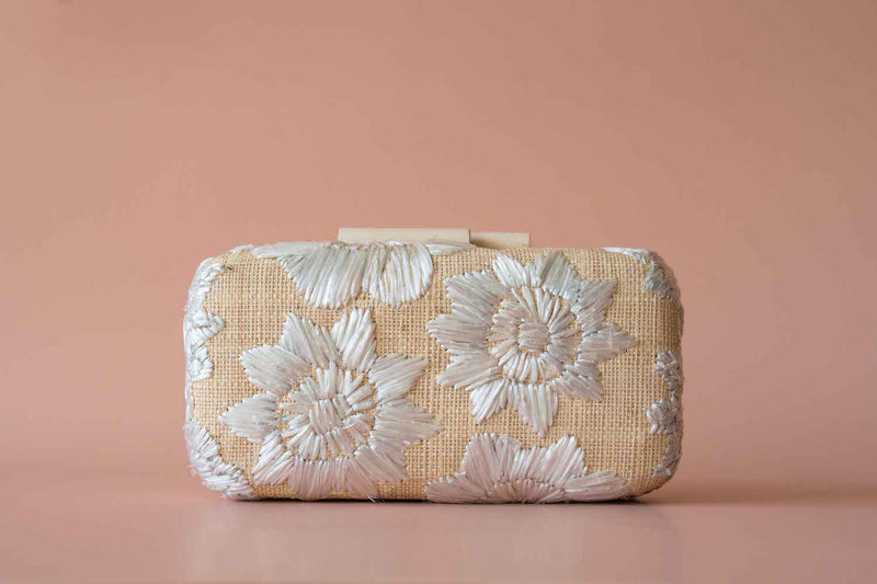 Elsie Hard Clutch - Island Girl