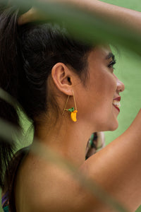 DANGLING MANGO Earrings - Island Girl