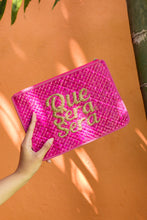 "Load image into Gallery viewer, ""QUE SERA SERA"" Clutch"