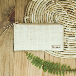 Raffia Cosmetic Clutch - Island Girl