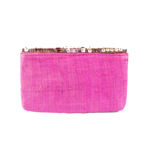 SANTIAGO Raffia Date Night Clutch - Island Girl