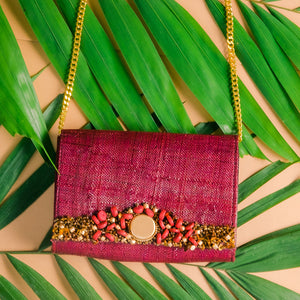 INGRID 2-way Date Night Clutch - Island Girl