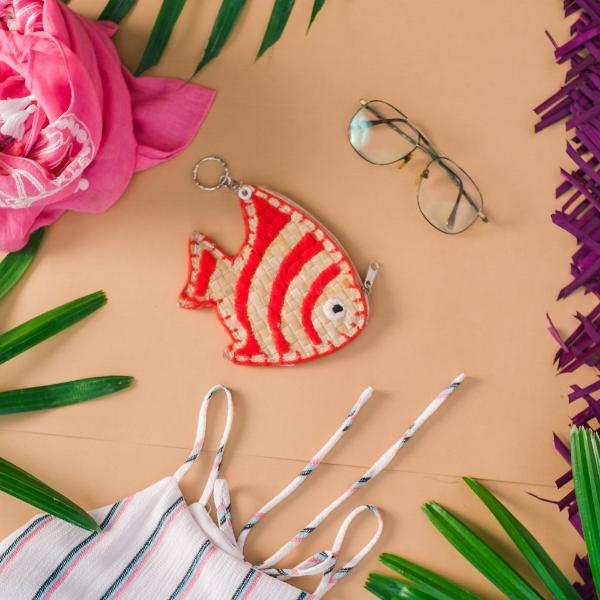 TIGERFISH Coin Purse + Keychain - Island Girl