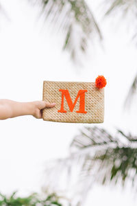 SUMMER ESSENTIALS  Custom Clutch - Island Girl