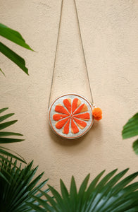 Orange Shoulder Bag - Island Girl