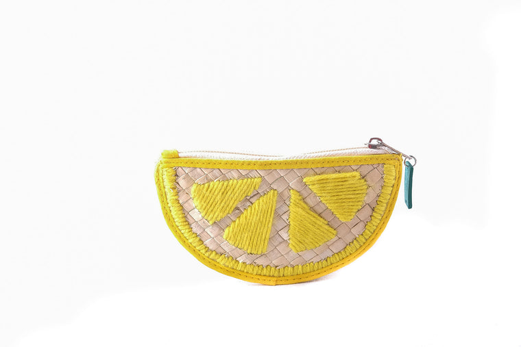 Lemon Pandan Coin Purse