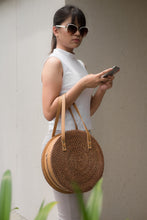 Load image into Gallery viewer, Noah Rattan Handbag - Island Girl