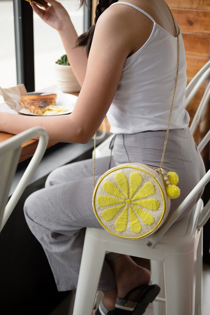 Lemon Shoulder Bag
