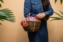 Load image into Gallery viewer, Polka Picnic Basket - Island Girl