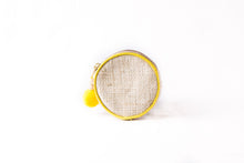 Load image into Gallery viewer, Lemon Zest Round Coin Purse - Island Girl