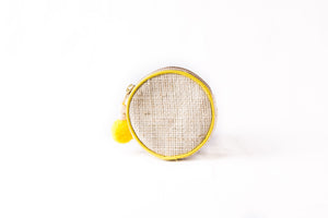 Lemon Zest Round Coin Purse - Island Girl