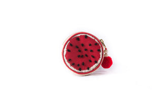 Juicy Watermelon Round Coin Purse - Island Girl