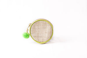 Yummy Kiwi Round Coin Purse - Island Girl