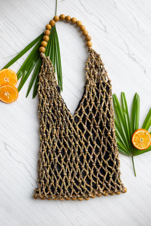 Darcy Macramé Large Tote - Island Girl