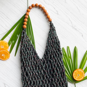 Darcy Macrame Large Tote - Island Girl