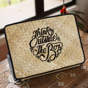 THINK OUTSIDE THE BOX Laptop Case - Island Girl