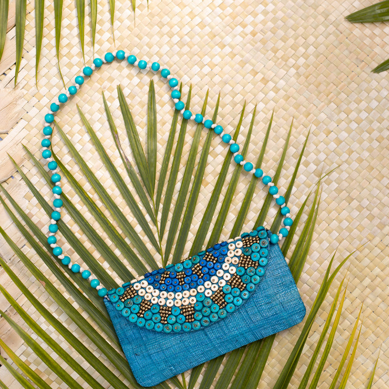 Liliana 3-way Clutch in Turquoise - Island Girl