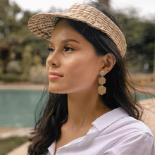Load image into Gallery viewer, Priscilla Earrings in Smoked - Island Girl