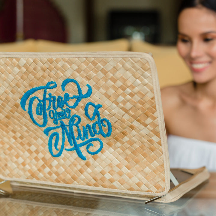 Free Your Mind Laptop Case - Island Girl