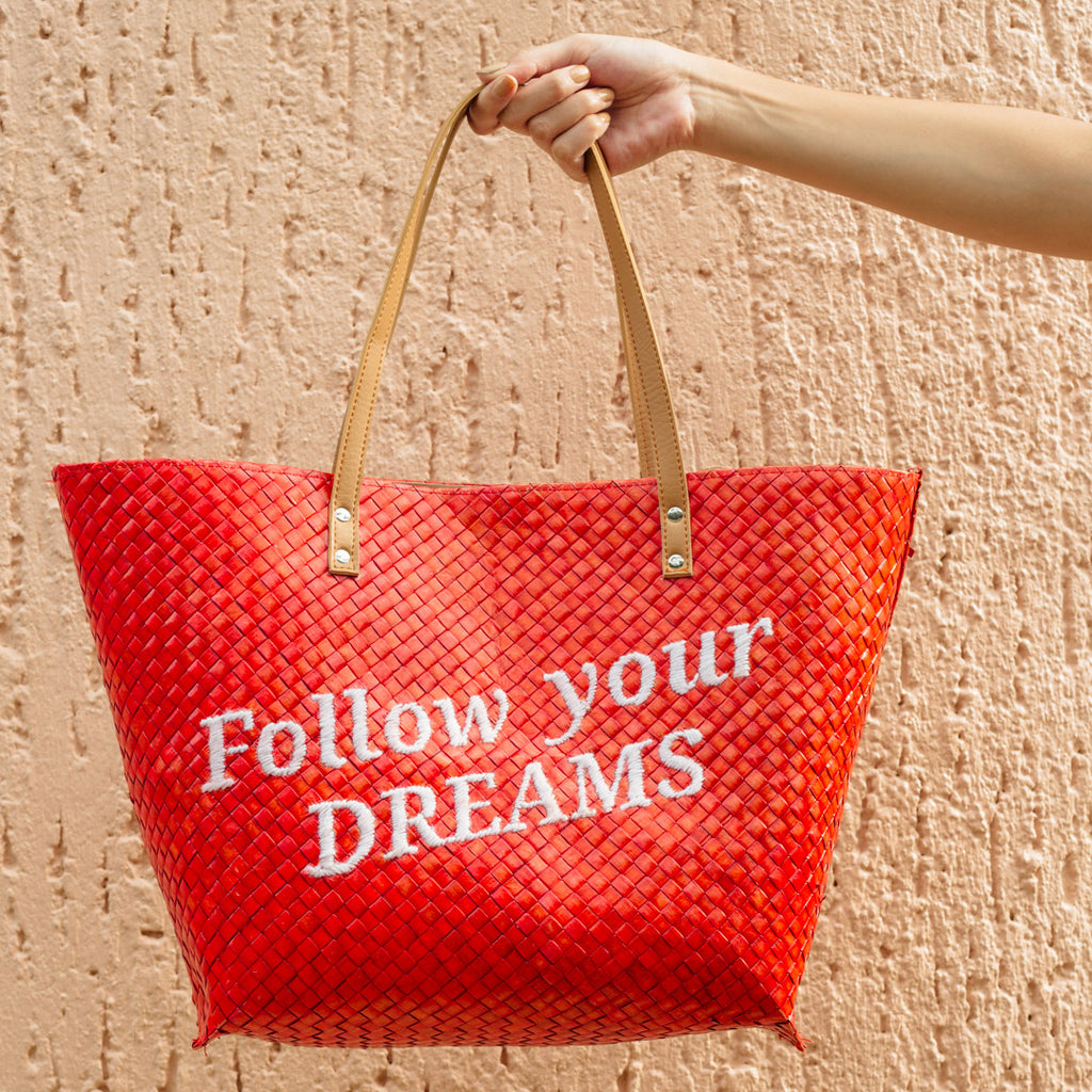 Follow Your Dreams Tote - Island Girl