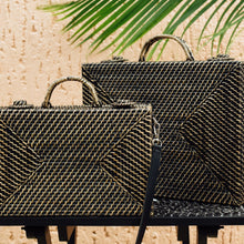 Load image into Gallery viewer, THE BRIEFCASE MINI in BLACK - Island Girl