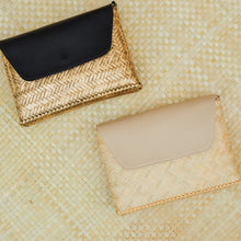 Load image into Gallery viewer, THE BAMBOO CLUTCH in NATURAL - Island Girl