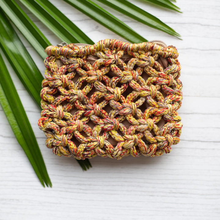 Lani Macrame Coin Purse - Island Girl