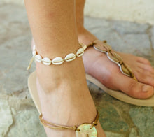 Load image into Gallery viewer, ADRIAN Cowrie Shell Bracelet/Anklet - Island Girl
