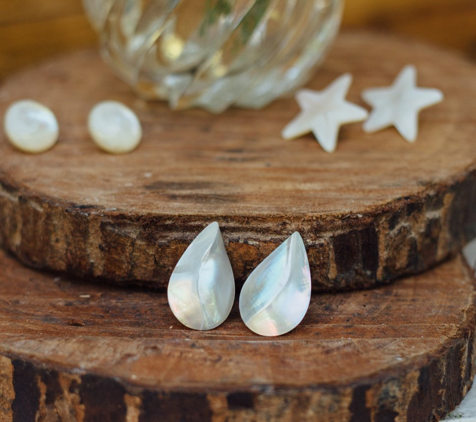 Drew Teardrop Earrings - Island Girl