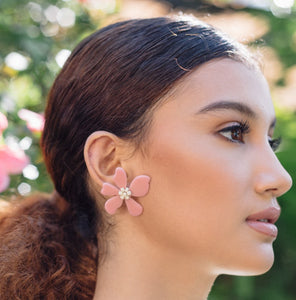 DELILAH Flower Earrings - Island Girl