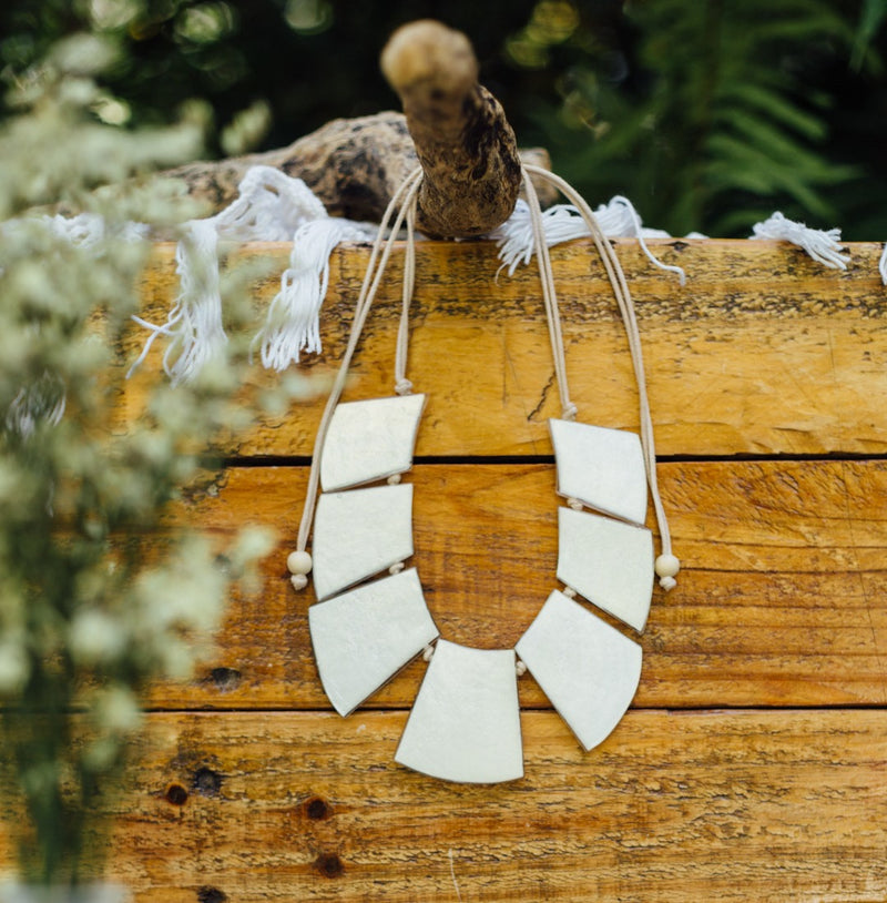 Cleopatra Shell Necklace - Island Girl