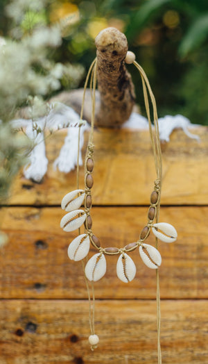 Glen Cowrie Shell Necklace - Island Girl