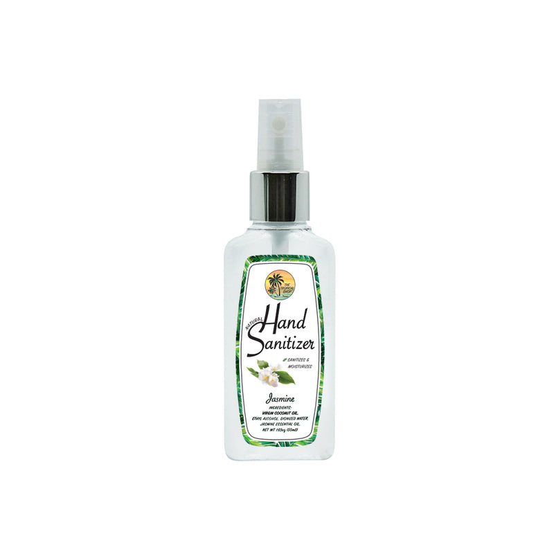 The Tropical Shop Natural Hand Sanitizer Jasmine Scent - Island Girl