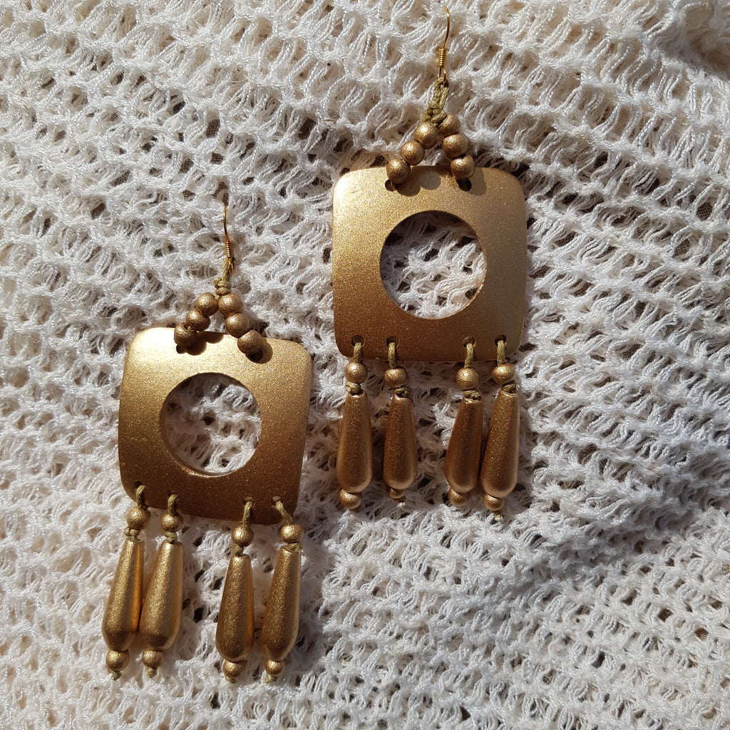 Lana Earrings in Gold - Island Girl