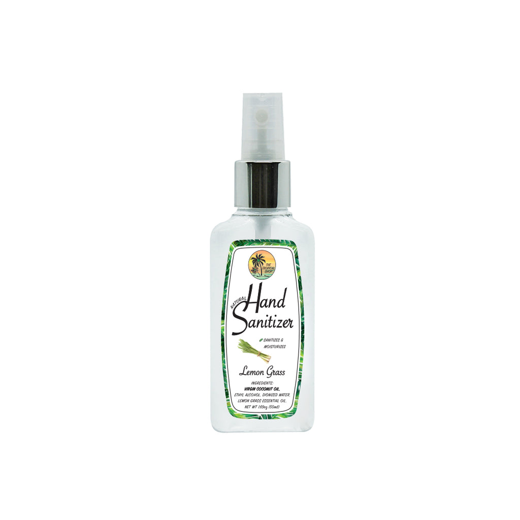 The Tropical Shop Natural Lemon Grass Hand Sanitizer - Island Girl