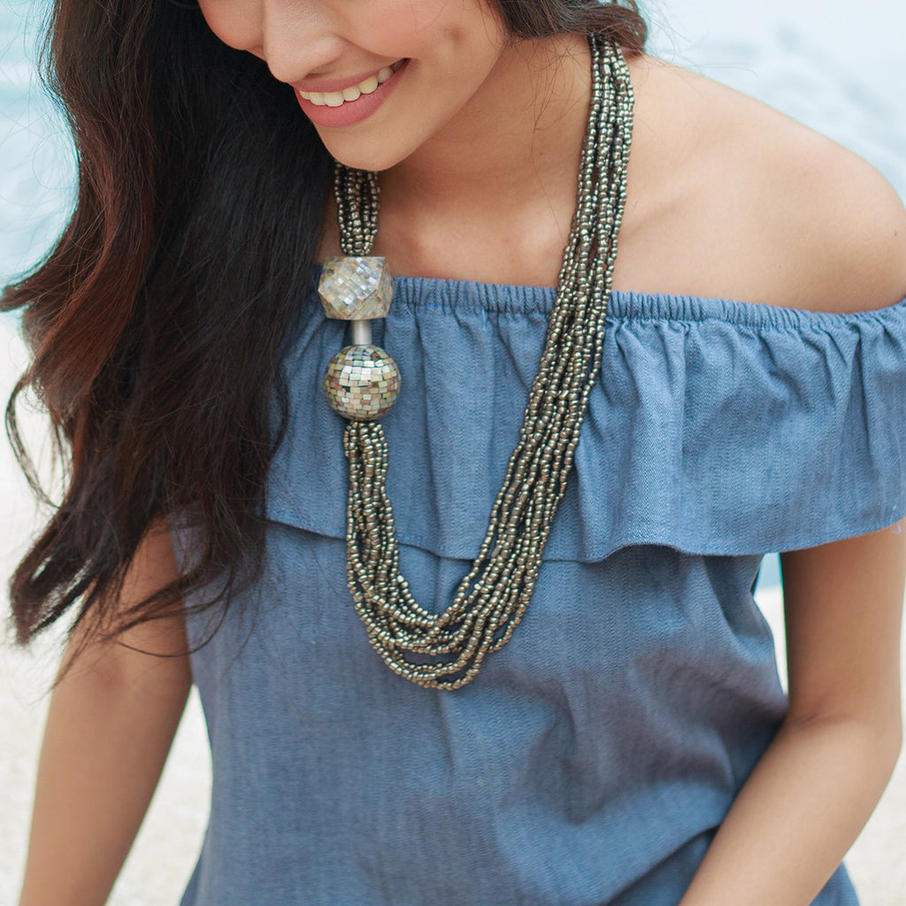 Romina Necklace - Island Girl