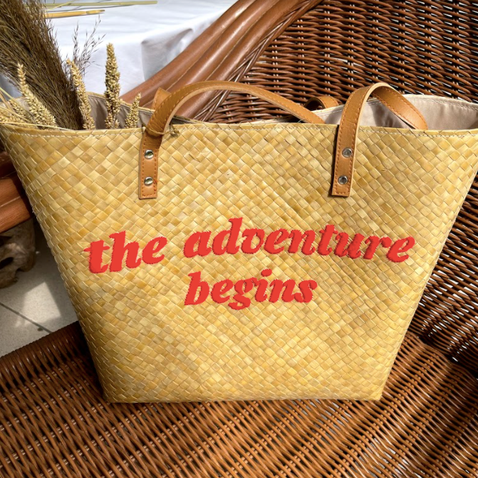 The Adventure Begins Tote