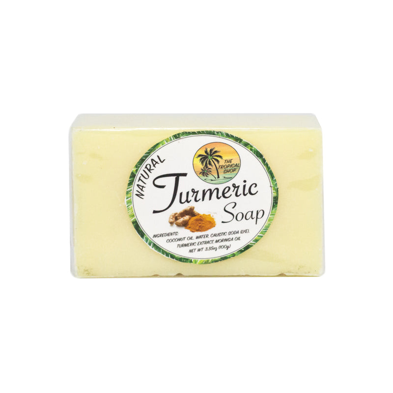 The Tropical Shop Natural Turmeric Soap - Island Girl